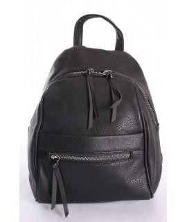 Dámsky batoh LAURA (dc613) - čierny (29x23x12 cm)