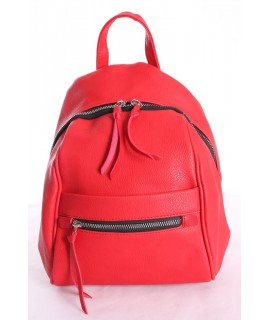Dámsky batoh LAURA (dc613) - červený (29x23x12 cm)