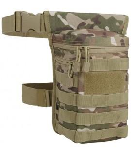 Brandit pánska maskáčová ľadvinka s dvomi popruhmi na pás a nohu (30x17x10cm) - tactical