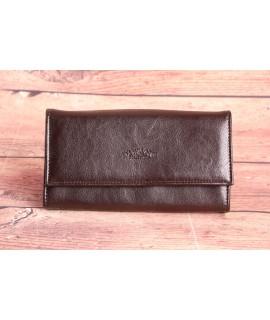Čašnícka peňaženka DIWANG (C18R64) - tmavohnedá
