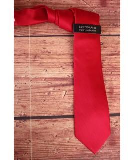 Pánska kravata -červená (7,5cm)