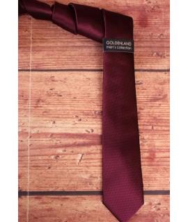 Pánska kravata - baklažánová  (5,5cm)