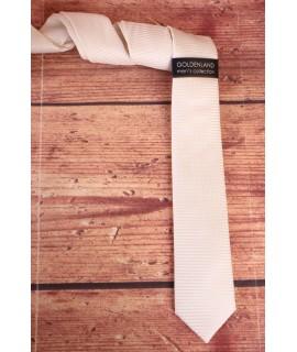 Pánska kravata - krémová (5,5cm)