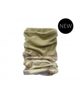 Brandit multifunkčná maskáčová šatka s flísovou časťou - piesková
