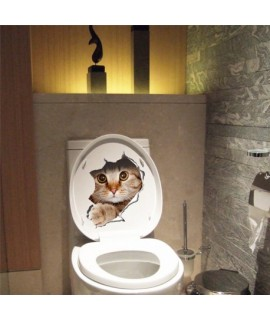 3D nálepka na stenu Mačka 21x29cm