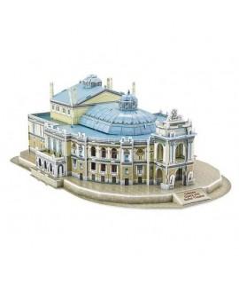 3D puzzle - Budova opery v Odese 76 dielov