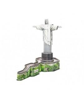 3D puzzle - Ježiš z Rio de Janeira 22 dielikov