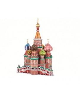 3D puzzle - Kostol na červenom námestí 231 ks