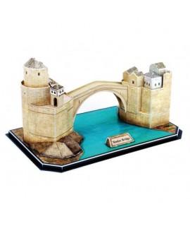 3D puzzle - Starý most v Mostare 64 dielikov