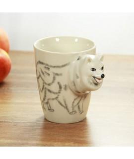 3D zvierací hrnček - pes 400ml