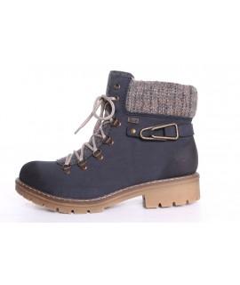 Dámska zateplená športová obuv Rieker TEX(Y9131-14) - tmavomodrá