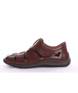Pánska letná obuv RIEKER (05273-25) - hnedá