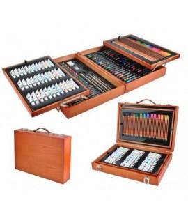 6004 Veľký výtvarný kufrík - 174 ks