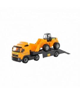 6881 Wader kamión Volvo s bagrom