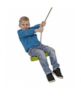 7509 Detská okrúhla hojdačka s lanom 28 cm