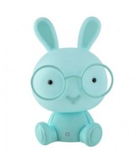 7882 Nočná lampička králik s okuliarmi Zelená