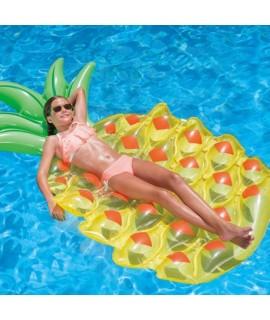 80169 Nafukovacie lehátko ananás 183x113cm