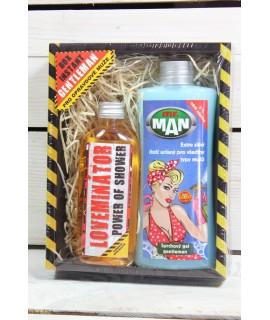 Darčekové balenie pre GENTLEMANA - sprchový gel 250 ml+sprchový gel 100 ml