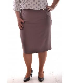 Dámska sukňa - hnedá