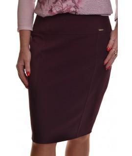 Dámska sukňa - baklažán