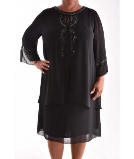 f3bf1a593731 Dámske spoločenské šaty VZOR 10. - čierne
