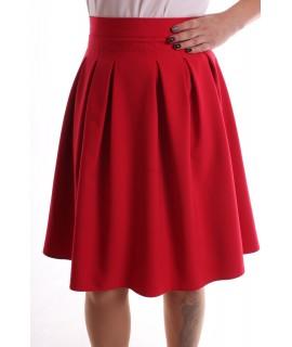"""Dámska sukňa """"LIZA"""" - červená"""