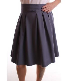 """Dámska sukňa """"LIZA"""" - sivá"""