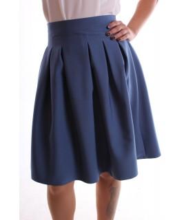 """Dámska sukňa """"LIZA"""" - modrá"""