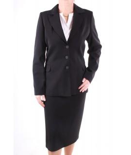 Dámsky sukňový kostým - čierny