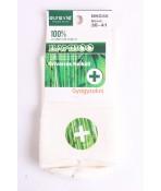 Dámske bambusové zdravotné ponožky (v. 38-41) - krémové