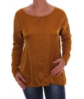 Dámske tričko - okrové D3