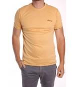 Pánske elastické tričko MARCOSTAR - B802 - žlté