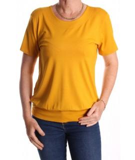 Dámske tričko NATA - žlté