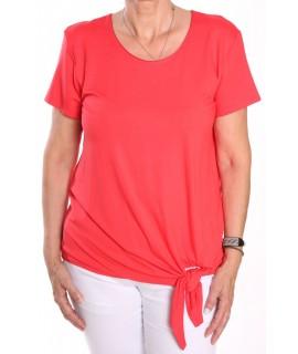 Dámske tričko na zaviazanie NATA - oranžové