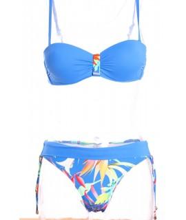 Dámske plavky dvojdielne B215 - kráľovské modré