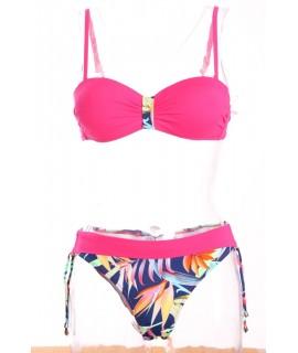 Dámske plavky dvojdielne B215 - ružové