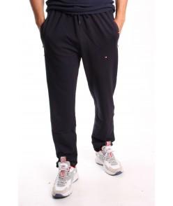 Pánske elastické športové nohavice TOMY PARKER - tmavomodré