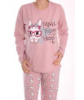 Dámske pyžamo SNC-2531 - staroružové