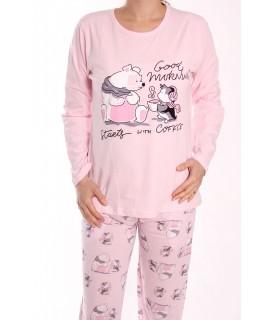 Dámske pyžamo SNC-2532 - bledoružové