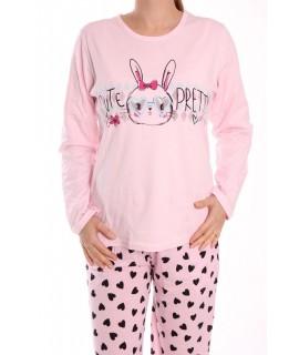 Dámske pyžamo SNC-2534 - bledoružové