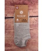 Dámske členkové ponožky AURA.VIA (NDX6289) - bledosivé