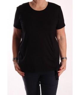 Dámske elastické tričko NATA - čierne