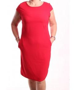 Dámske letné šaty - červené
