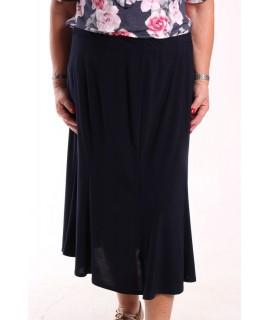 Dámska elastická sukňa - tmavomodrá