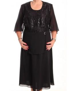 Dámsky spoločenský kostým REGINA - čierny
