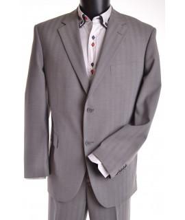 Pánsky oblek (v. 194 cm) - sivý