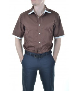 1be83ae1ad39 Pánska košeľa s krátkym rukávom