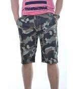 Pánske krátke maskáčové nohavice P7
