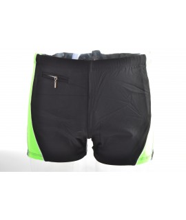 1cf109066 Pánske plavky - čierno-neonovozelené