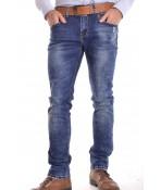 Pánske rifľové elastické nohavice KA9182 P7